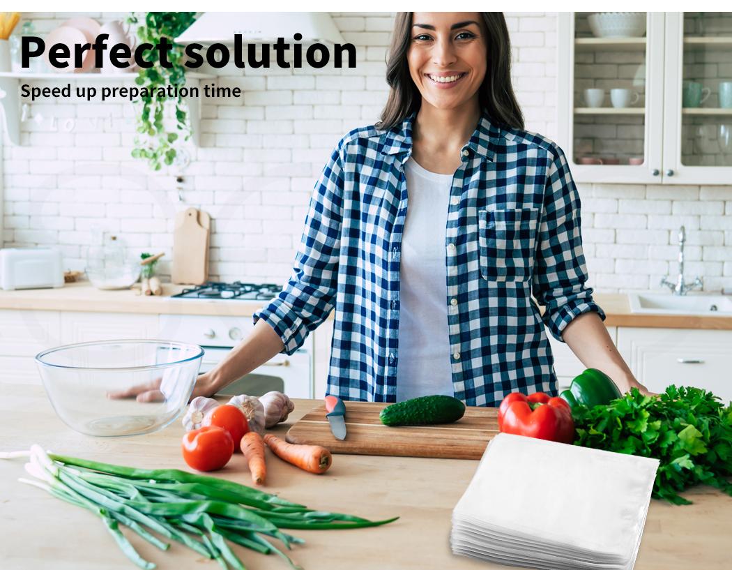 thumbnail 85 - Vacuum Food Sealer Storage Bags Saver Seal Bags Commercial Heat 100/200/500x