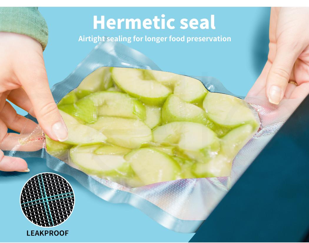 thumbnail 91 - Vacuum Food Sealer Storage Bags Saver Seal Bags Commercial Heat 100/200/500x