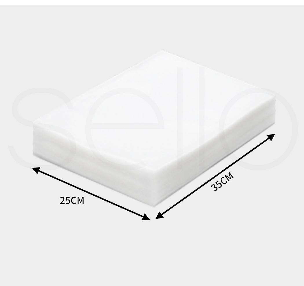thumbnail 108 - Vacuum Food Sealer Storage Bags Saver Seal Bags Commercial Heat 100/200/500x