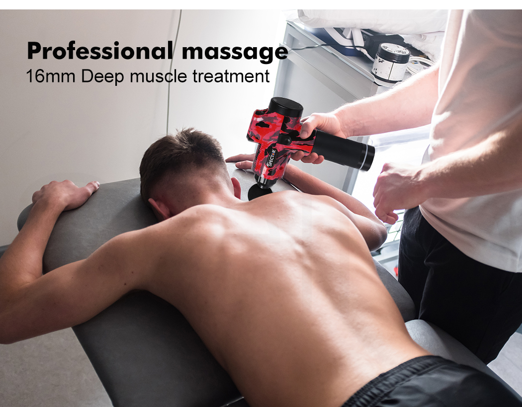 thumbnail 26 - Massage-Gun-Electric-Massager-Vibration-Muscle-Therapy-4-Heads-Percussion-Tissue