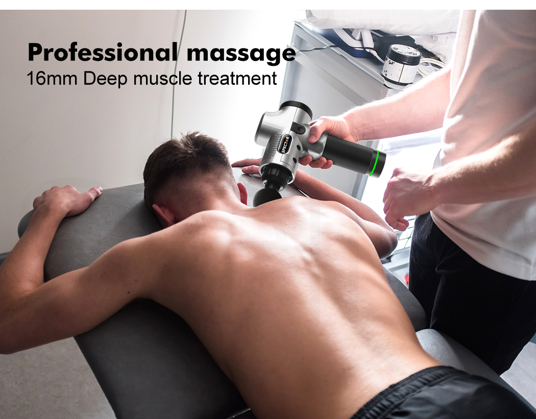 thumbnail 37 - Massage-Gun-Electric-Massager-Vibration-Muscle-Therapy-4-Heads-Percussion-Tissue