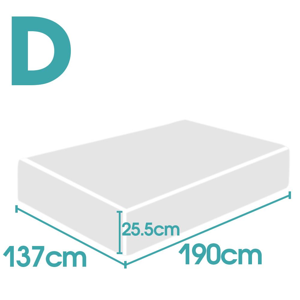 thumbnail 22 - DreamZ Mattress Topper Memory Foam 25cm Comfort Washable Soft Cover King Queen