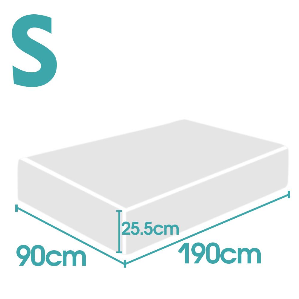 thumbnail 56 - DreamZ Mattress Topper Memory Foam 25cm Comfort Washable Soft Cover King Queen