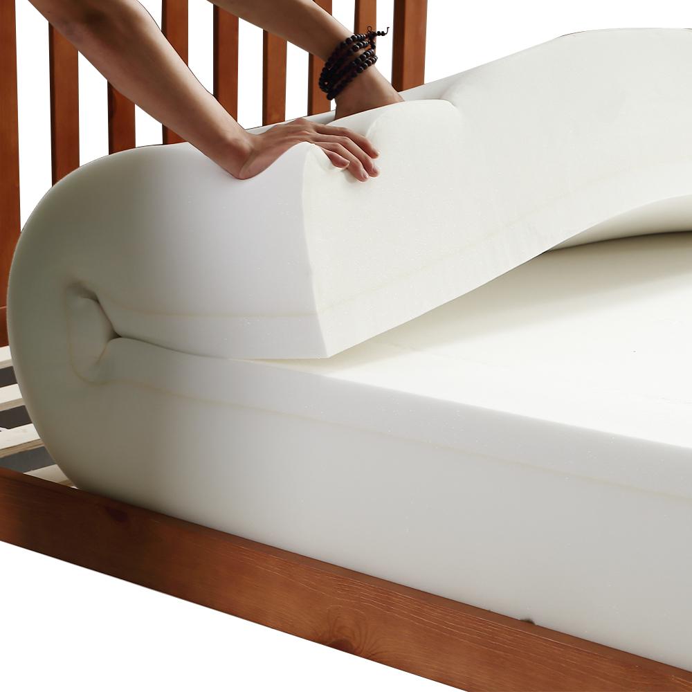 thumbnail 20 - DreamZ Mattress Topper Memory Foam 25cm Comfort Washable Soft Cover King Queen