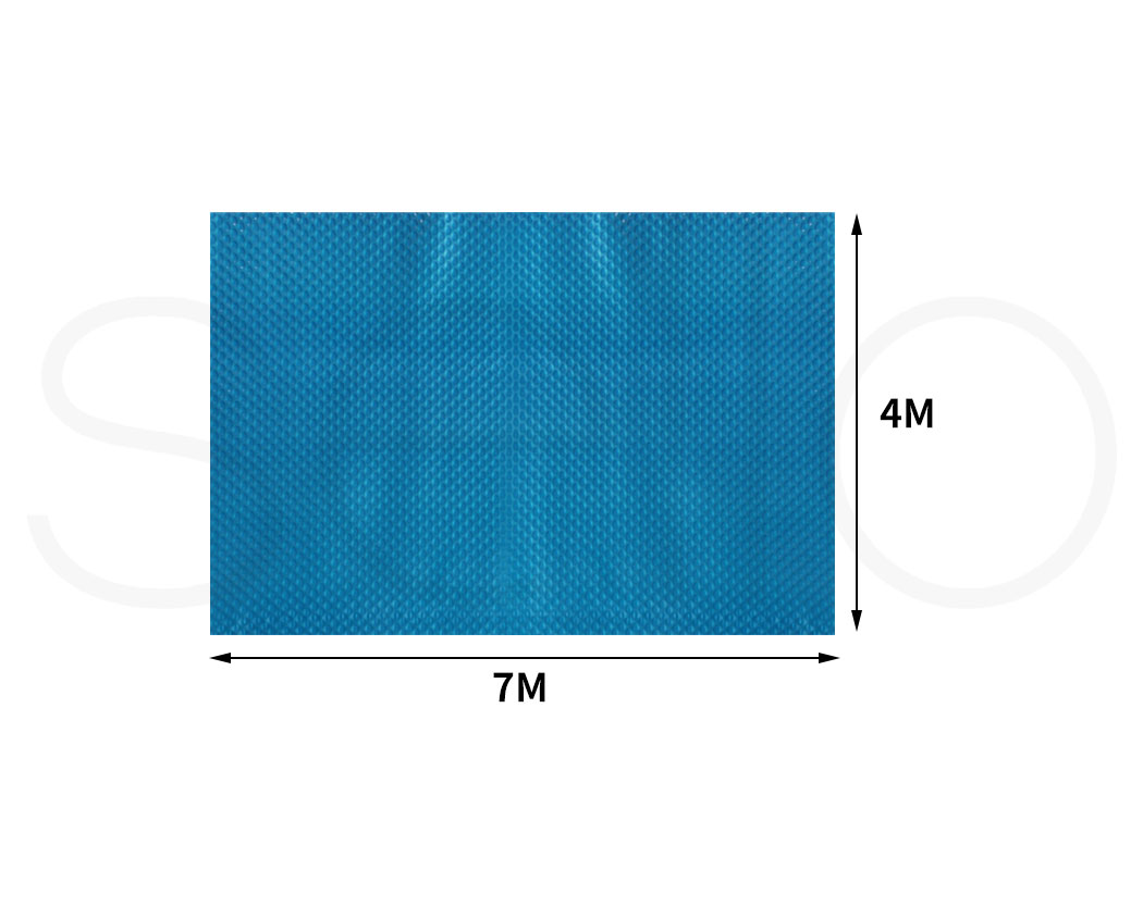 Solar-Swimming-Pool-Cover-400-500-Micron-Outdoor-Bubble-Blanket-Covers-7-Sizes thumbnail 113