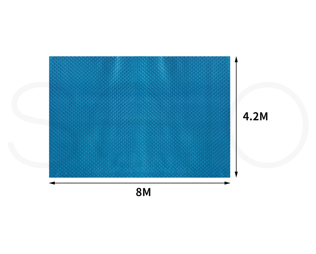 Solar-Swimming-Pool-Cover-400-500-Micron-Outdoor-Bubble-Blanket-Covers-7-Sizes thumbnail 136
