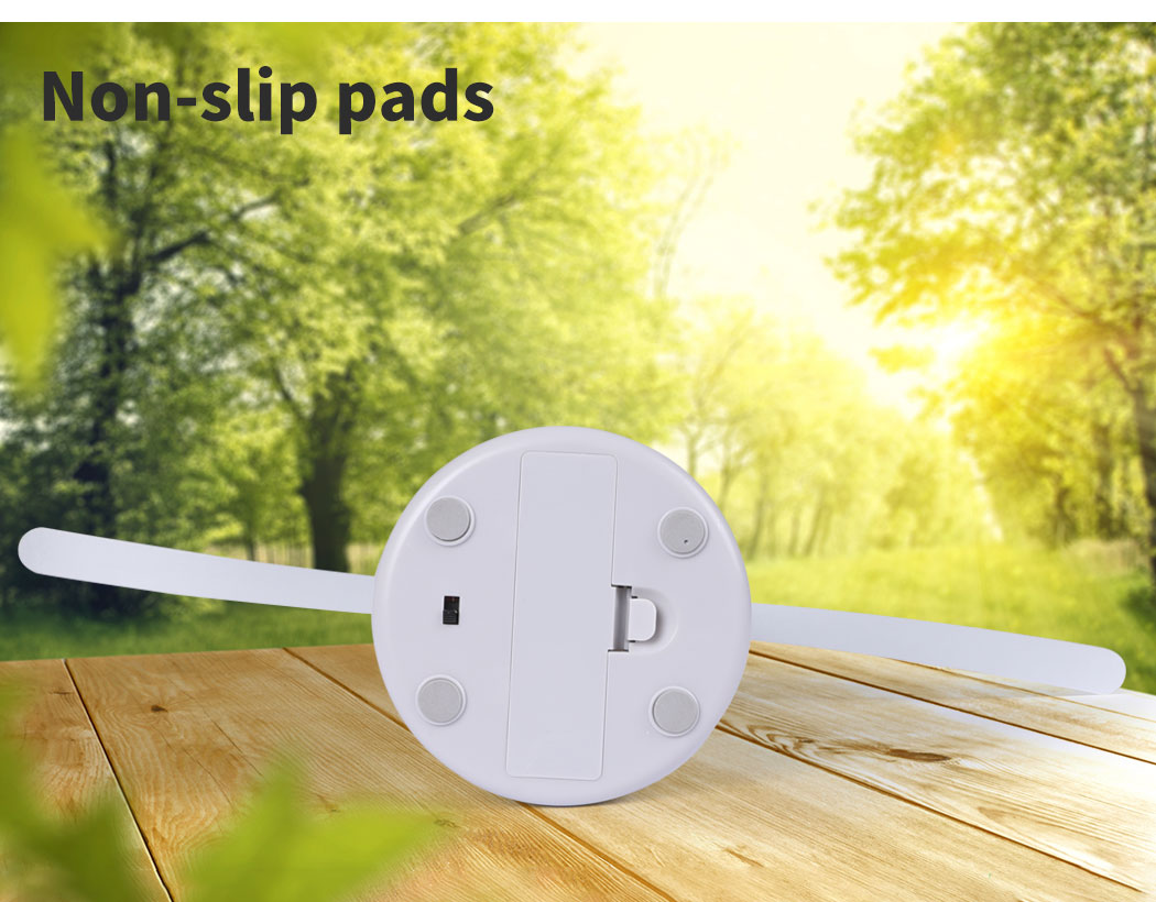 thumbnail 16 - LED Repellent Fly Fan Entertaining Free Indoor Outdoor Home Chemical  Safe Trap