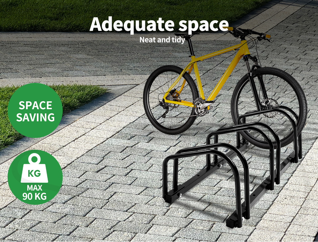 thumbnail 15 - Monvelo 1-6 Bike Stand Bicycle Rack Storage Floor Parking Holder Cycling Stands
