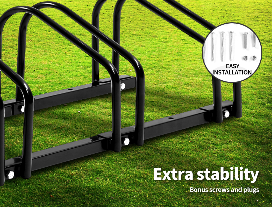 thumbnail 21 - Monvelo 1-6 Bike Stand Bicycle Rack Storage Floor Parking Holder Cycling Stands