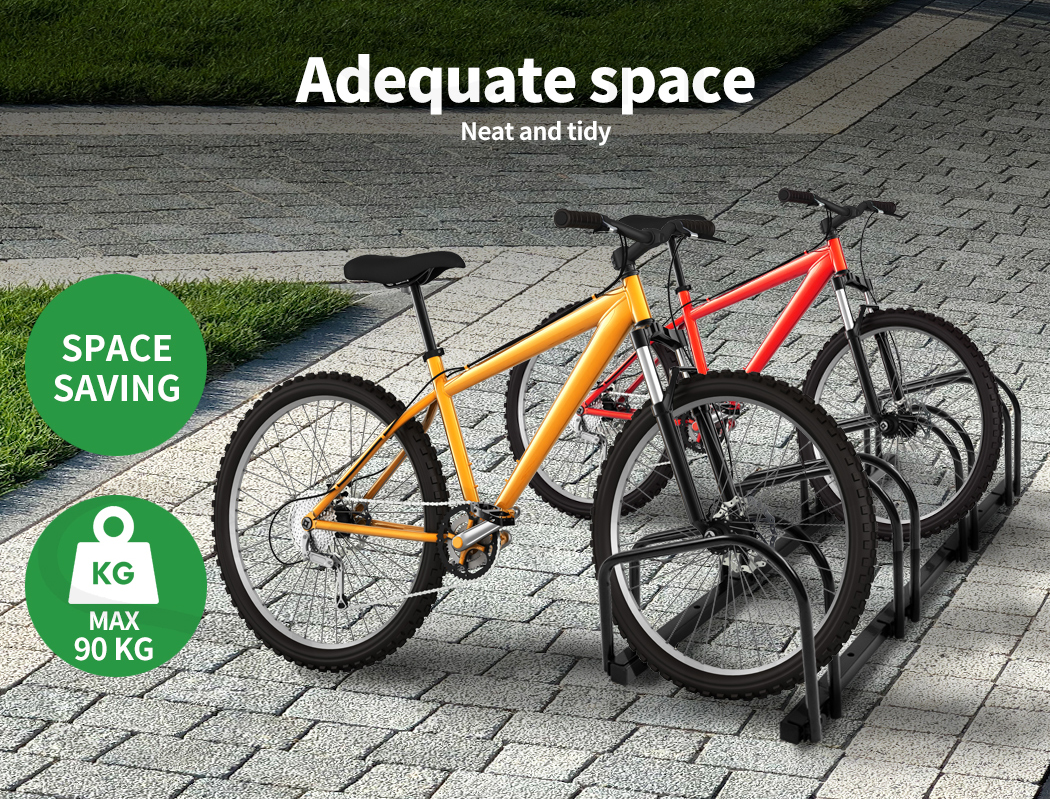 thumbnail 27 - Monvelo 1-6 Bike Stand Bicycle Rack Storage Floor Parking Holder Cycling Stands
