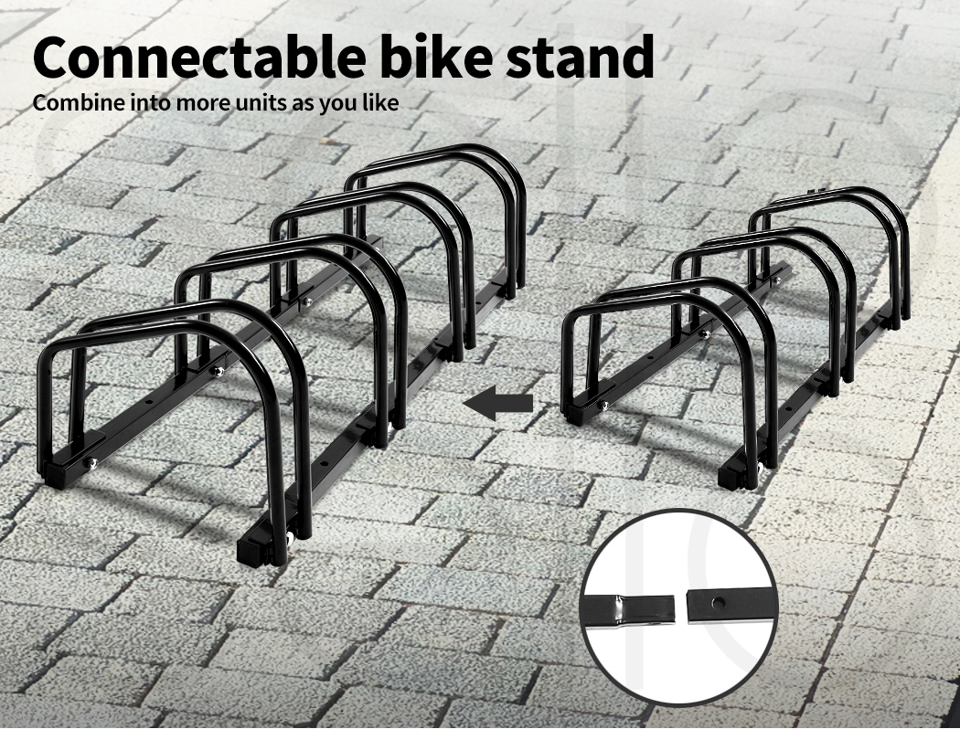 thumbnail 32 - Monvelo 1-6 Bike Stand Bicycle Rack Storage Floor Parking Holder Cycling Stands