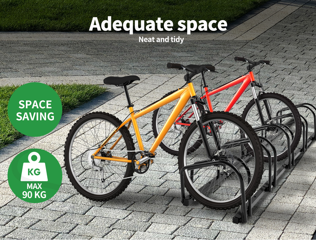 thumbnail 39 - Monvelo 1-6 Bike Stand Bicycle Rack Storage Floor Parking Holder Cycling Stands