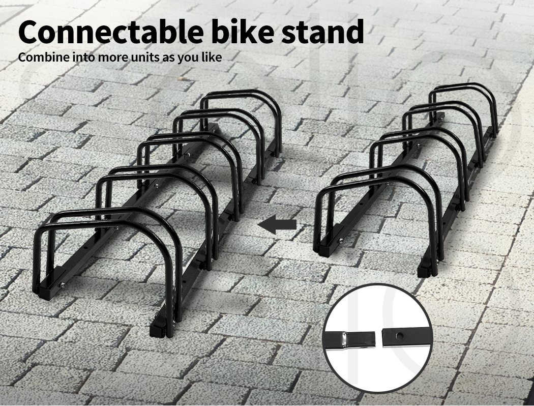 thumbnail 44 - Monvelo 1-6 Bike Stand Bicycle Rack Storage Floor Parking Holder Cycling Stands