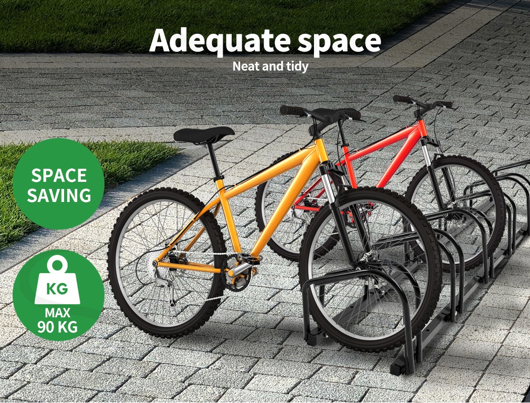 thumbnail 51 - Monvelo 1-6 Bike Stand Bicycle Rack Storage Floor Parking Holder Cycling Stands