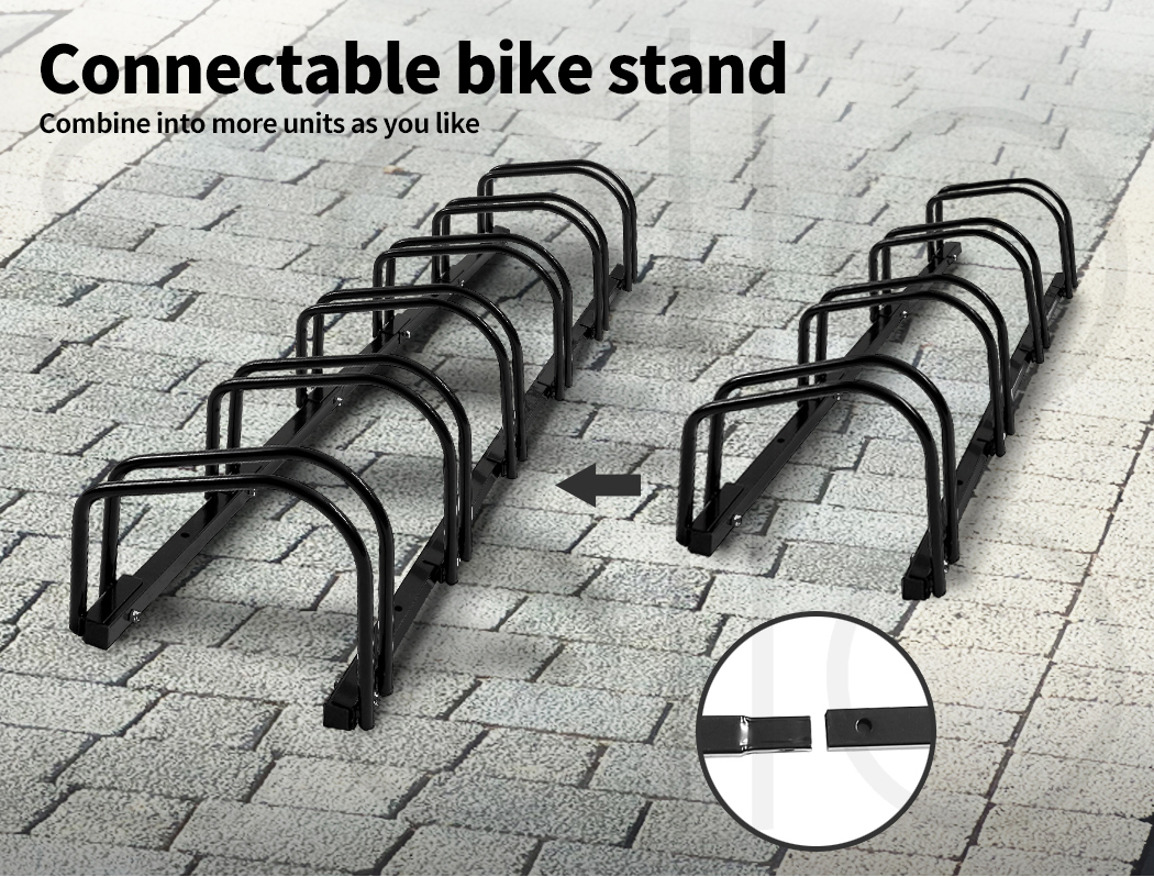 thumbnail 56 - Monvelo 1-6 Bike Stand Bicycle Rack Storage Floor Parking Holder Cycling Stands