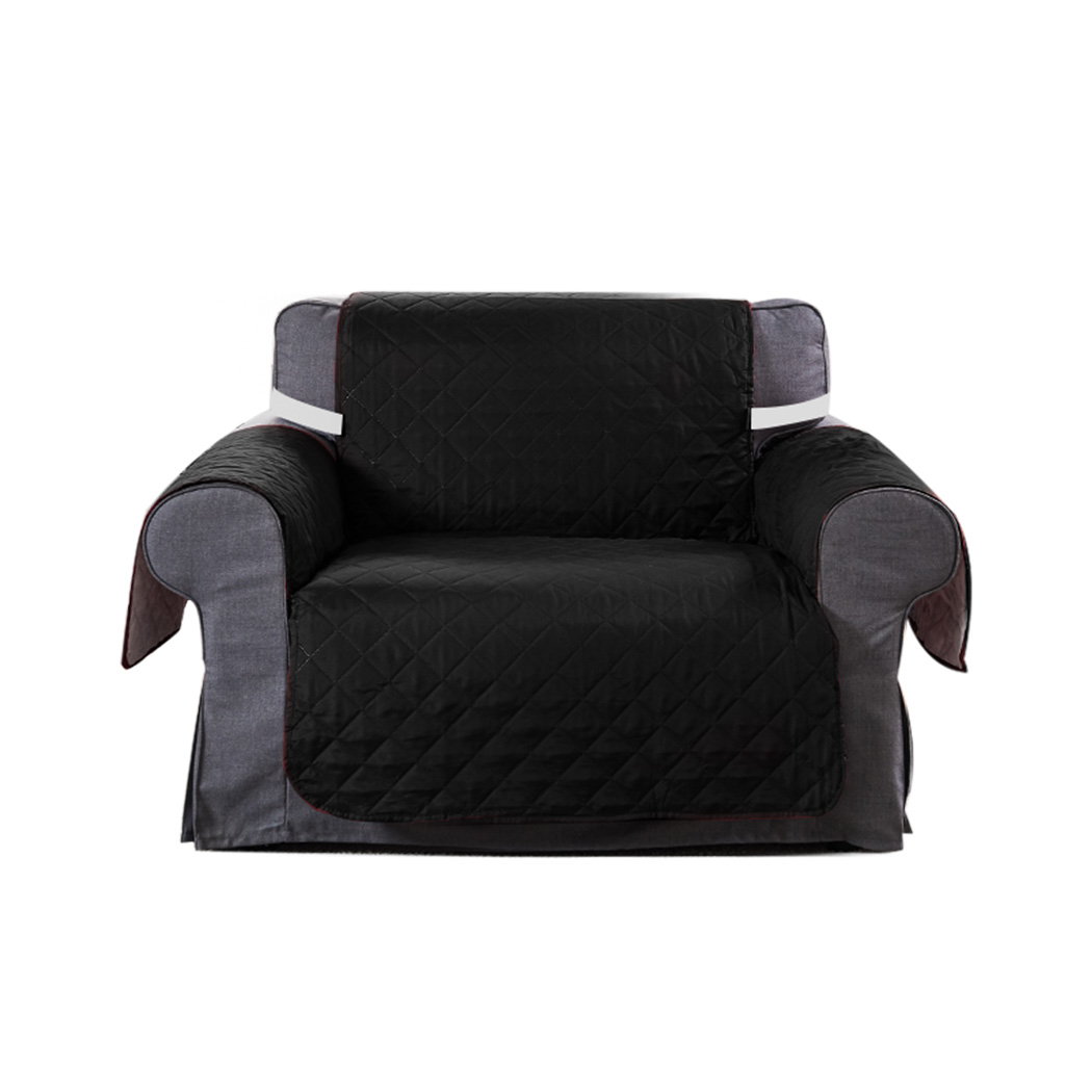 1-2-3-Seater-Sofa-Cover-Couch-Lounge-Protector-Quilted-Slipcovers-Waterproof thumbnail 24