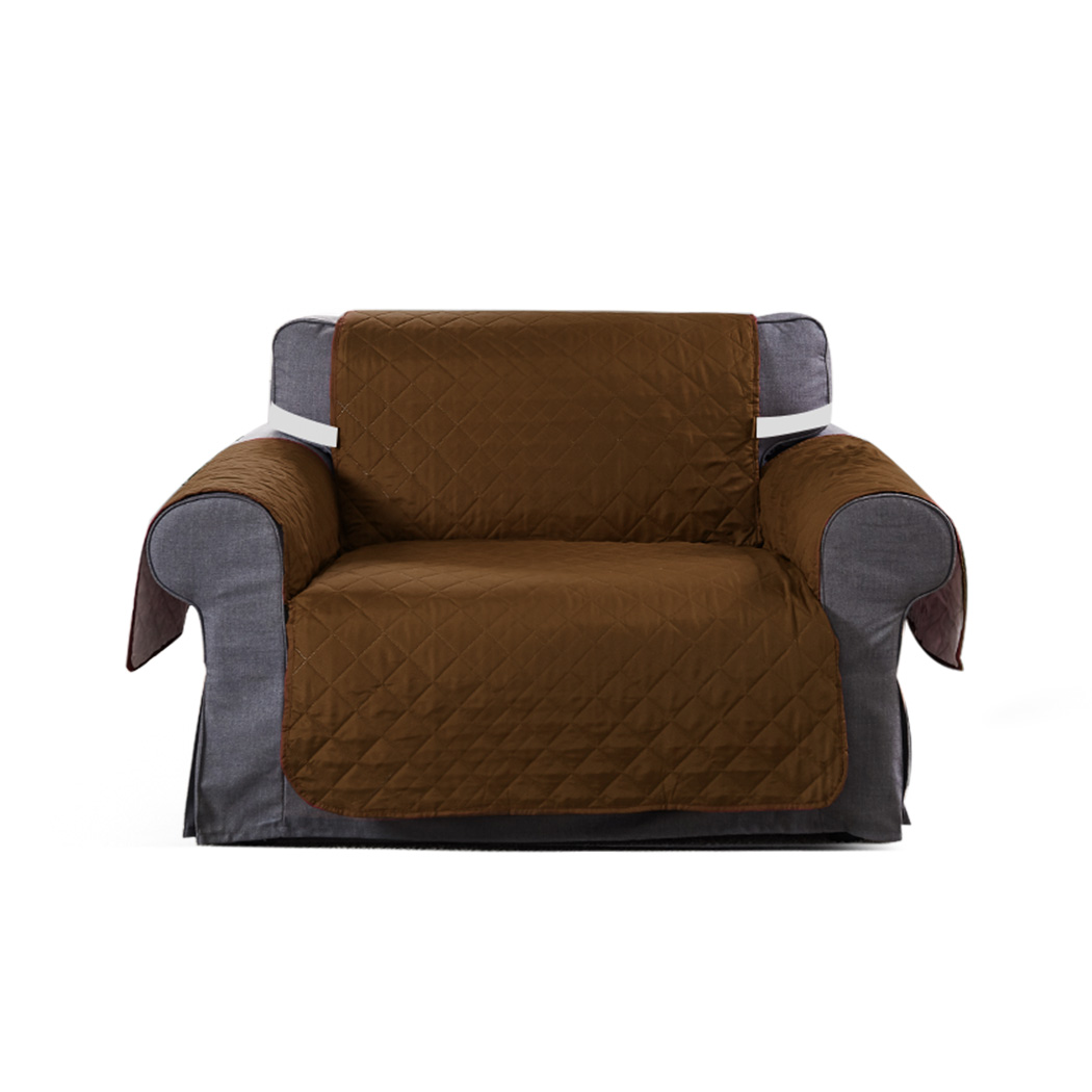 1-2-3-Seater-Sofa-Cover-Couch-Lounge-Protector-Quilted-Slipcovers-Waterproof thumbnail 30