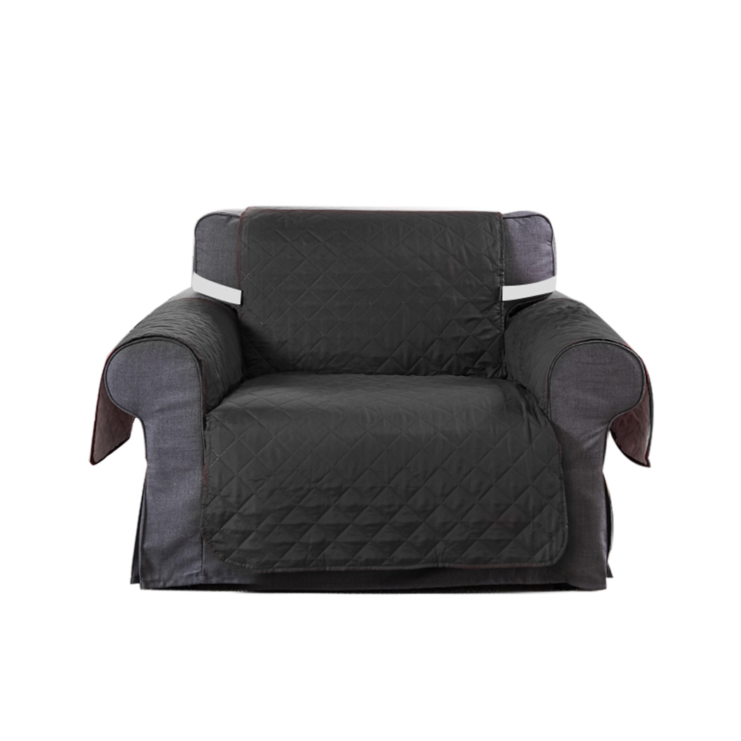 1-2-3-Seater-Sofa-Cover-Couch-Lounge-Protector-Quilted-Slipcovers-Waterproof thumbnail 54