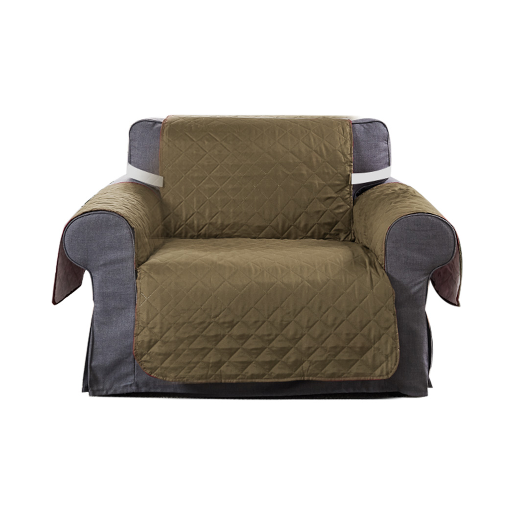 1-2-3-Seater-Sofa-Cover-Couch-Lounge-Protector-Quilted-Slipcovers-Waterproof thumbnail 60
